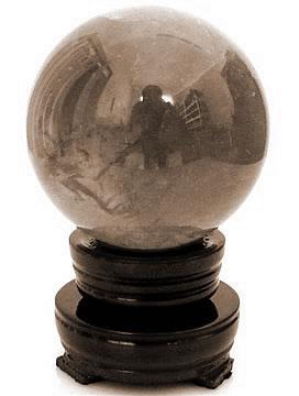 在线算命,可产生好运气的风水吉祥物:玻璃球