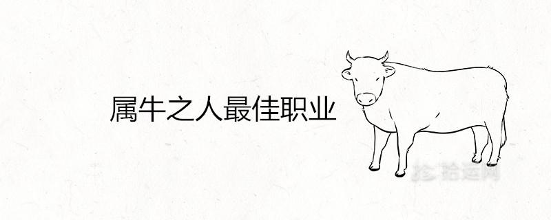 属牛之人最佳职业 适合做什么生意