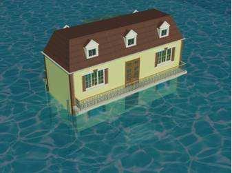 梦见房子被水淹了预示说明什么